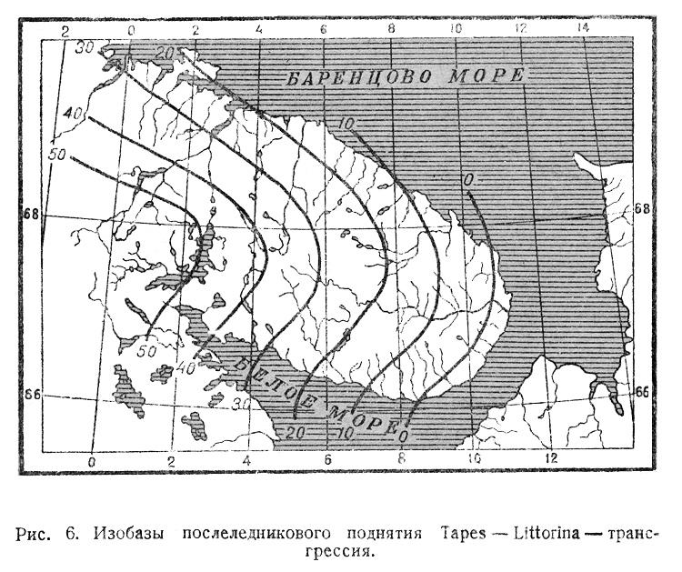 Поднятие Кольского полуострова